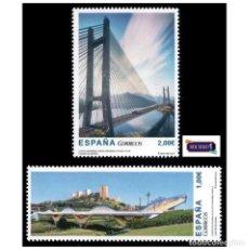 Selos: ESPAÑA 2013. EDIFIL 4816/17 4817. PUENTES DE ESPAÑA. NUEVO** MNH. Lote 150833554