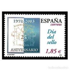 Sellos: ESPAÑA 2003. EDIFIL 3980. DÍA DEL SELLO. NUEVO** MNH. Lote 150958138