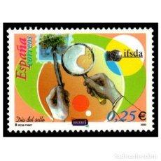 Sellos: ESPAÑA 2002. EDIFIL 3888. DÍA DEL SELLO. NUEVO** MNH. Lote 107019971