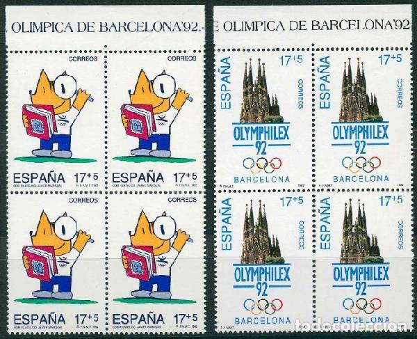 ESPAÑA 1992. EDIFIL 3218/19** - JUEGOS DE LA XXV OLIMPIADA BARCELONA 92 (Sellos - España - Juan Carlos I - Desde 1.986 a 1.999 - Nuevos)