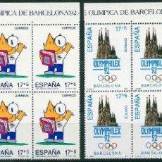 Sellos: ESPAÑA 1992. EDIFIL 3218/19** - JUEGOS DE LA XXV OLIMPIADA BARCELONA 92. Lote 151132890