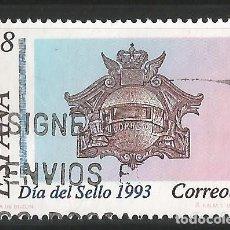 Sellos: ESPAÑA- 1993 - DIA DEL SELLO - EDIFIL 3243. Lote 151144766