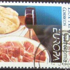 Sellos: ESPAÑA - EDIFIL Nº 4159 SERIE USADA - EUROPA CEPT - GASTRONOMIA. Lote 152065314