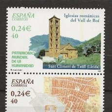 Sellos: R60.G1/ ESPAÑA 2001, MNH**, PATRIMONIO MUNDIAL DE LA HUMANIDAD. Lote 152341838