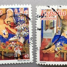 Sellos: ESPAÑA. NAVIDAD 2001. Lote 152345393