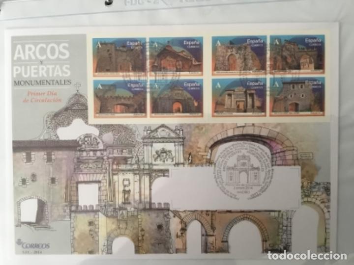 ESPAÑA 2014 - COLECCIÓN SOBRES PRIMER DÍA 2014 (Sellos - España - Juan Carlos I - Desde 2.000 - Cartas)