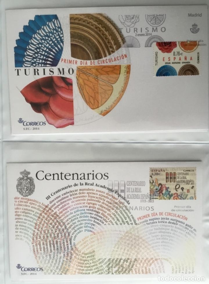 Sellos: España 2014 - Colección Sobres primer día 2014 - Foto 3 - 152371270