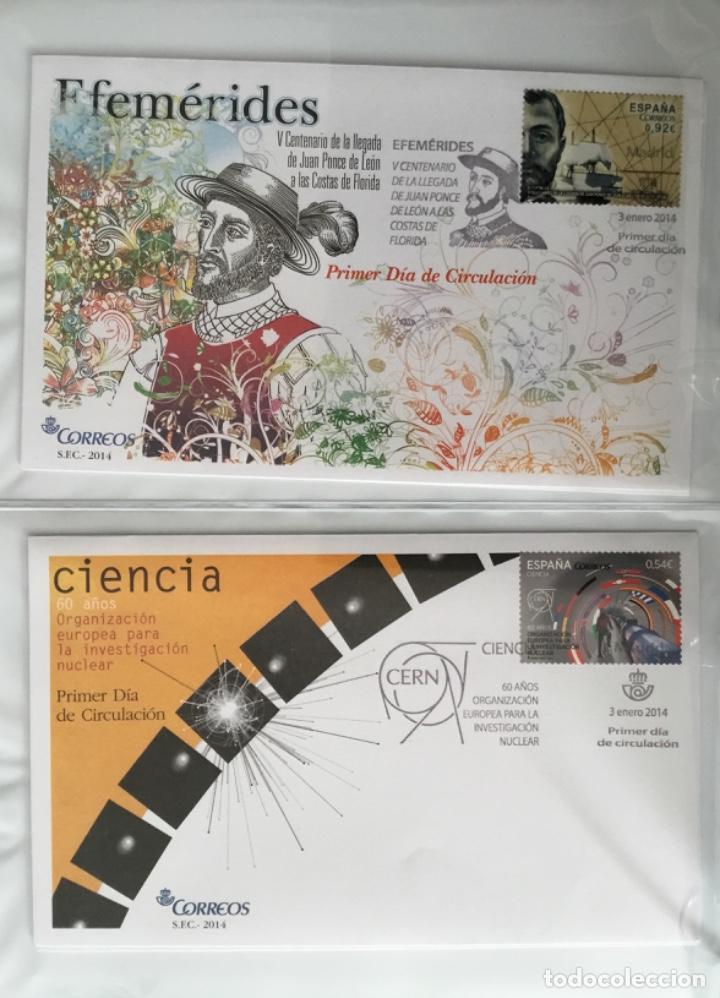 Sellos: España 2014 - Colección Sobres primer día 2014 - Foto 4 - 152371270