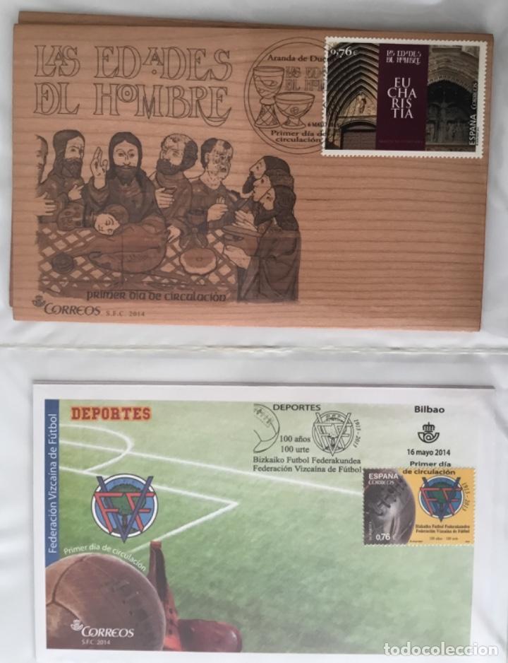 Sellos: España 2014 - Colección Sobres primer día 2014 - Foto 18 - 152371270