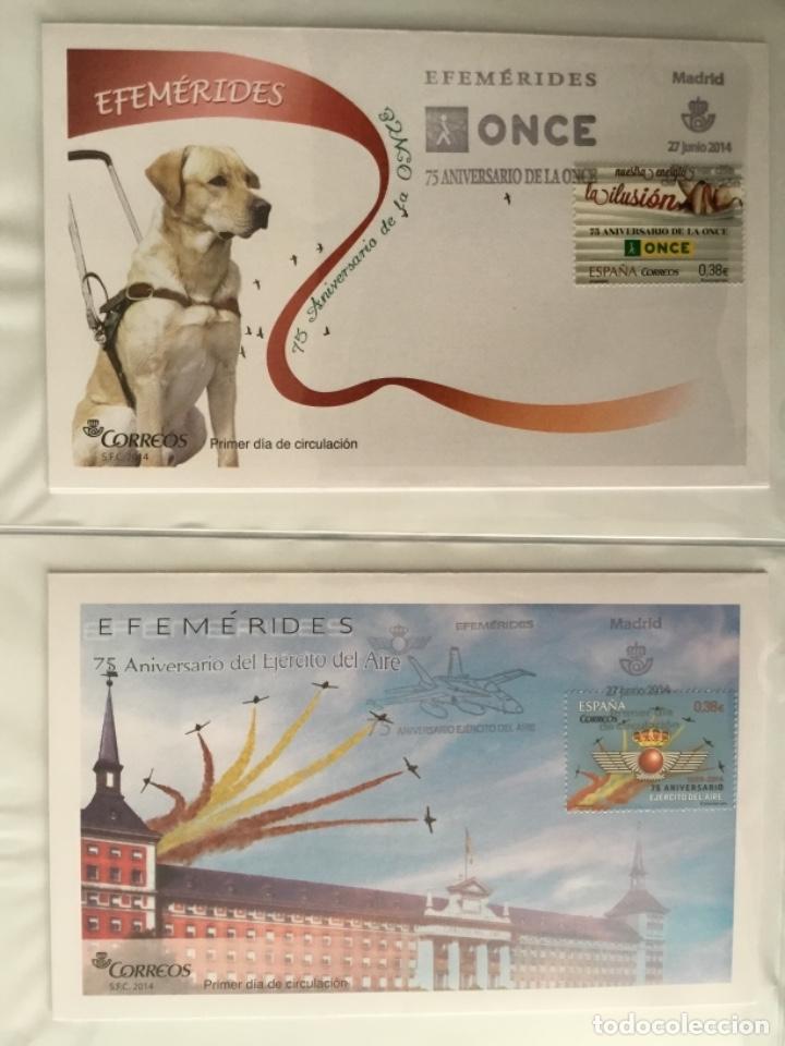 Sellos: España 2014 - Colección Sobres primer día 2014 - Foto 28 - 152371270