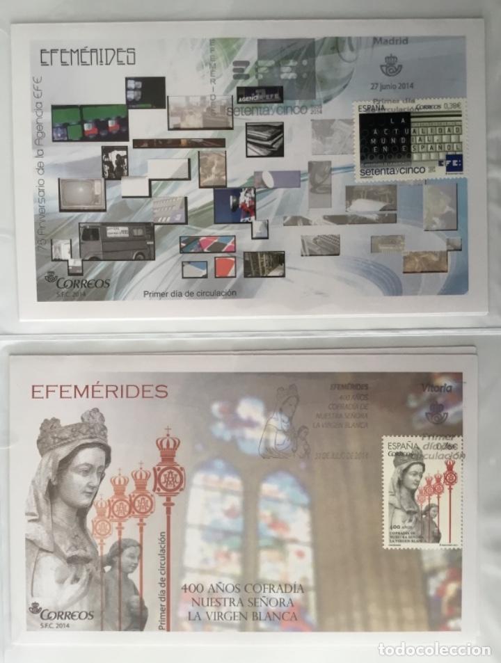 Sellos: España 2014 - Colección Sobres primer día 2014 - Foto 31 - 152371270