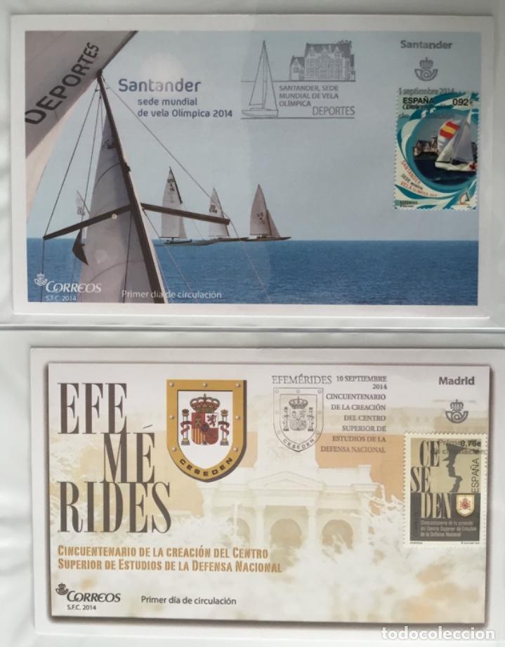 Sellos: España 2014 - Colección Sobres primer día 2014 - Foto 32 - 152371270