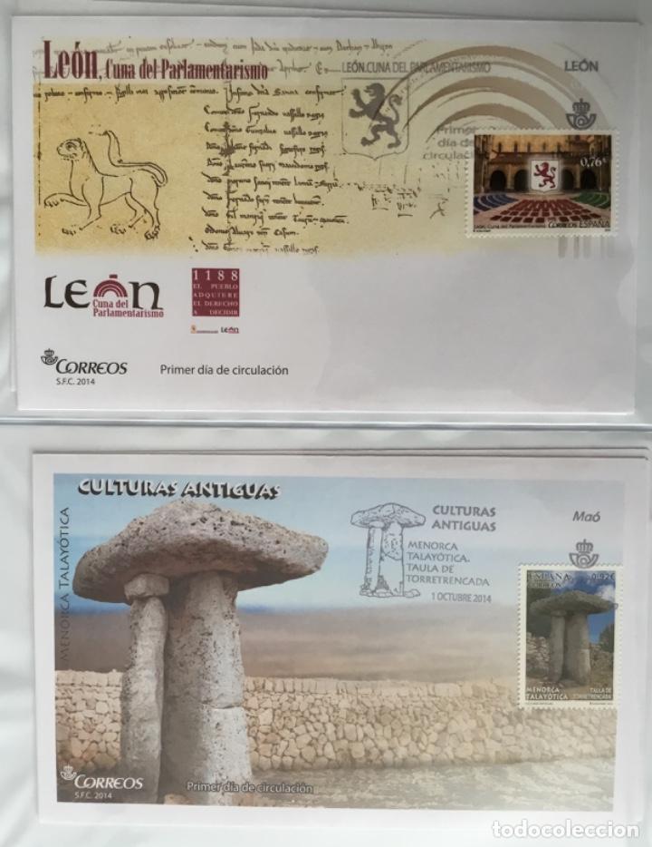 Sellos: España 2014 - Colección Sobres primer día 2014 - Foto 34 - 152371270