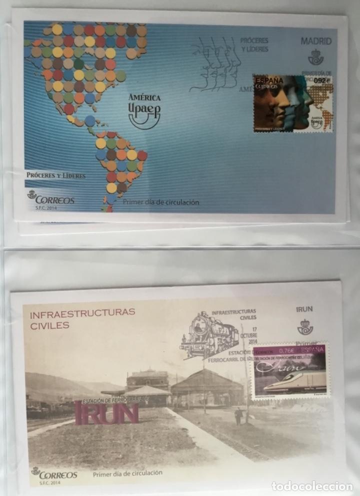 Sellos: España 2014 - Colección Sobres primer día 2014 - Foto 37 - 152371270