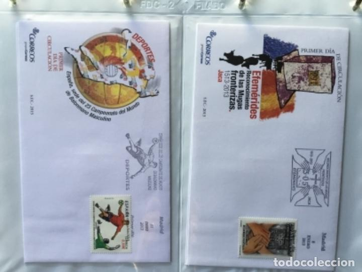 Sellos: España 2013 - Colección Sobres primer día 2013 - Foto 5 - 152371474