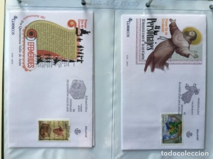 Sellos: España 2013 - Colección Sobres primer día 2013 - Foto 23 - 152371474