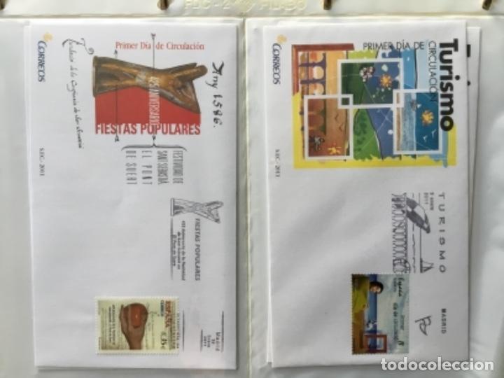 Sellos: España 2011 - Colección Sobres primer día 2011 - Foto 2 - 152372298