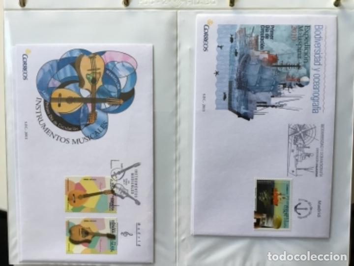 Sellos: España 2011 - Colección Sobres primer día 2011 - Foto 4 - 152372298