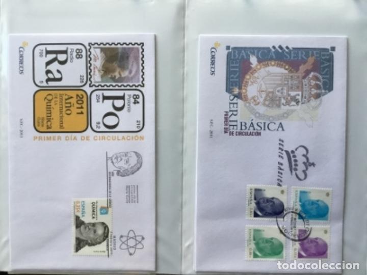 Sellos: España 2011 - Colección Sobres primer día 2011 - Foto 6 - 152372298