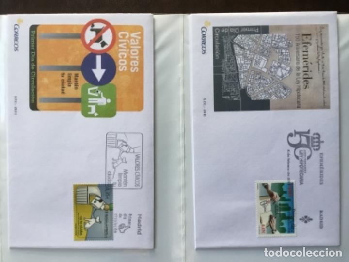 Sellos: España 2011 - Colección Sobres primer día 2011 - Foto 7 - 152372298