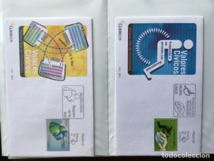 Sellos: España 2011 - Colección Sobres primer día 2011 - Foto 8 - 152372298