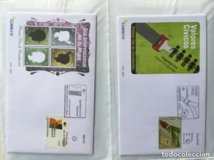 Sellos: España 2011 - Colección Sobres primer día 2011 - Foto 9 - 152372298