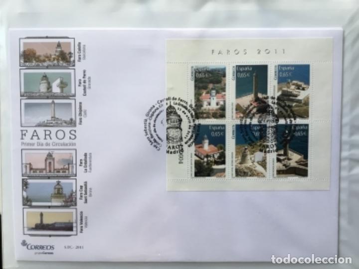 Sellos: España 2011 - Colección Sobres primer día 2011 - Foto 10 - 152372298