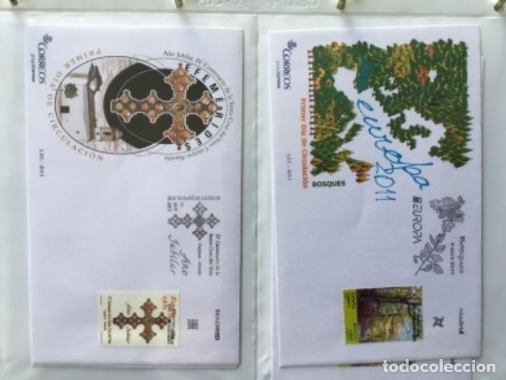 Sellos: España 2011 - Colección Sobres primer día 2011 - Foto 12 - 152372298