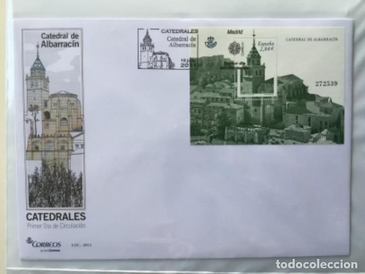 Sellos: España 2011 - Colección Sobres primer día 2011 - Foto 17 - 152372298