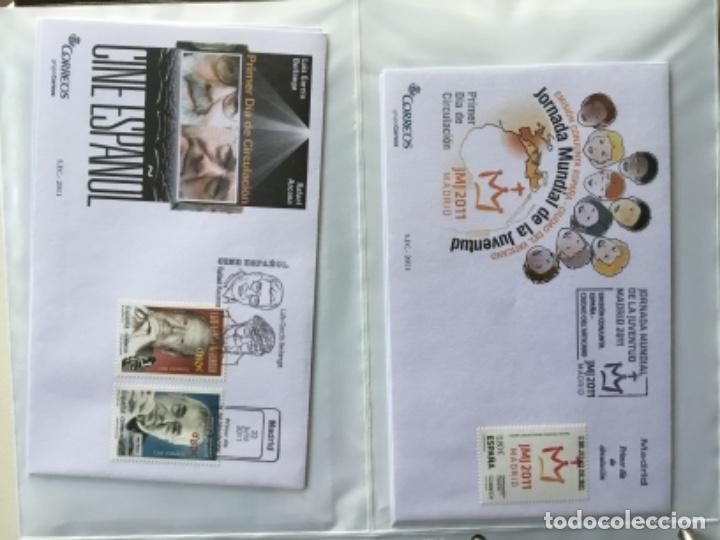 Sellos: España 2011 - Colección Sobres primer día 2011 - Foto 19 - 152372298