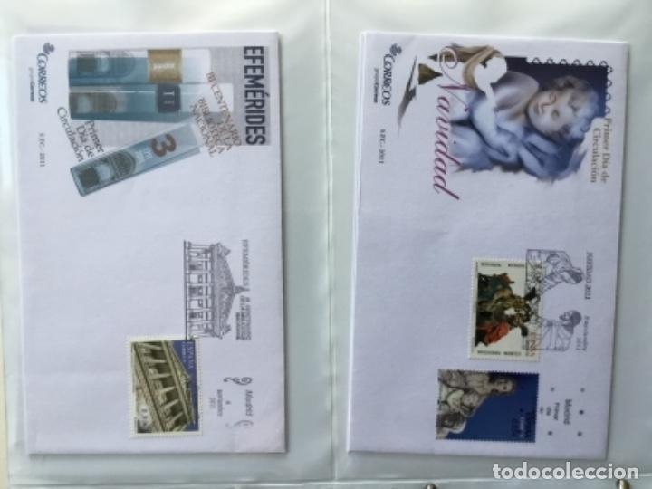Sellos: España 2011 - Colección Sobres primer día 2011 - Foto 29 - 152372298