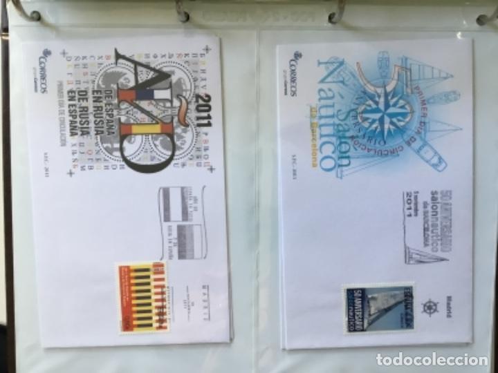 Sellos: España 2011 - Colección Sobres primer día 2011 - Foto 30 - 152372298