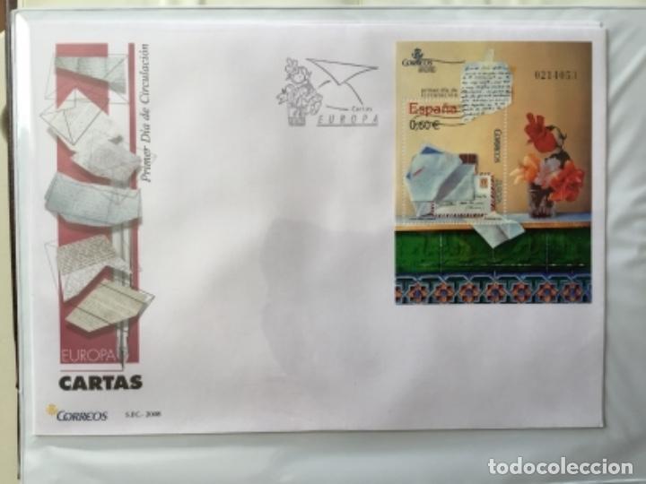 Sellos: España 2008 - Colección Sobres primer día 2008 SPD 2008 - Foto 15 - 152372942