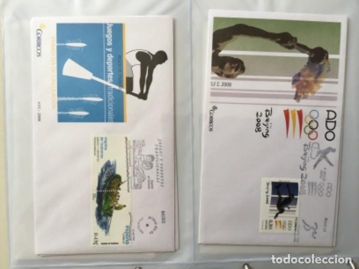 Sellos: España 2008 - Colección Sobres primer día 2008 SPD 2008 - Foto 20 - 152372942