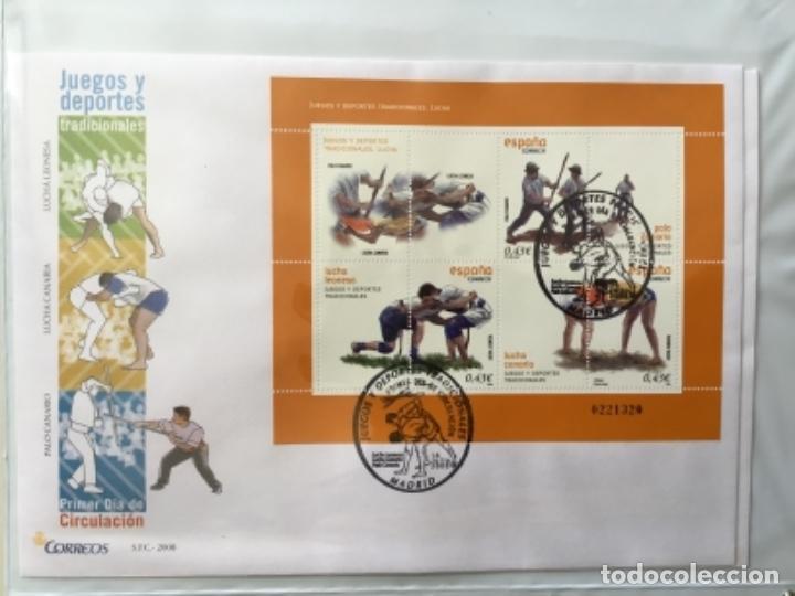 Sellos: España 2008 - Colección Sobres primer día 2008 SPD 2008 - Foto 24 - 152372942