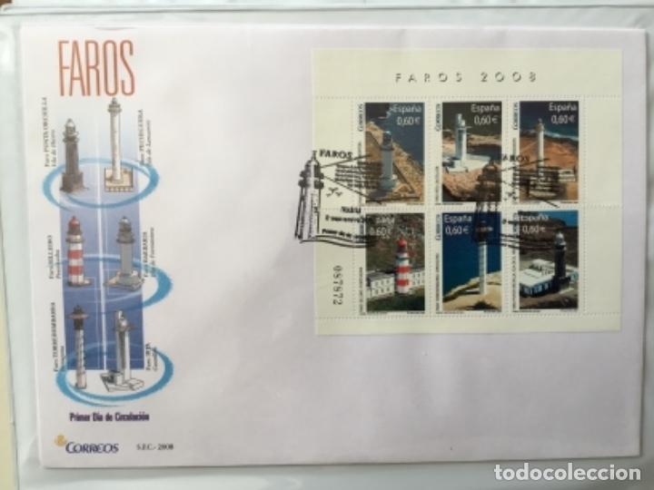 Sellos: España 2008 - Colección Sobres primer día 2008 SPD 2008 - Foto 28 - 152372942