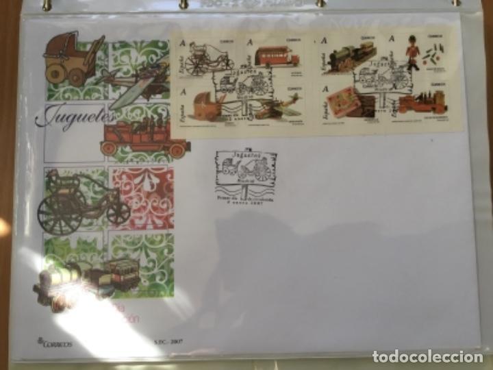 ESPAÑA 2007 - COLECCIÓN SOBRES PRIMER DÍA 2007 (Sellos - España - Juan Carlos I - Desde 2.000 - Cartas)