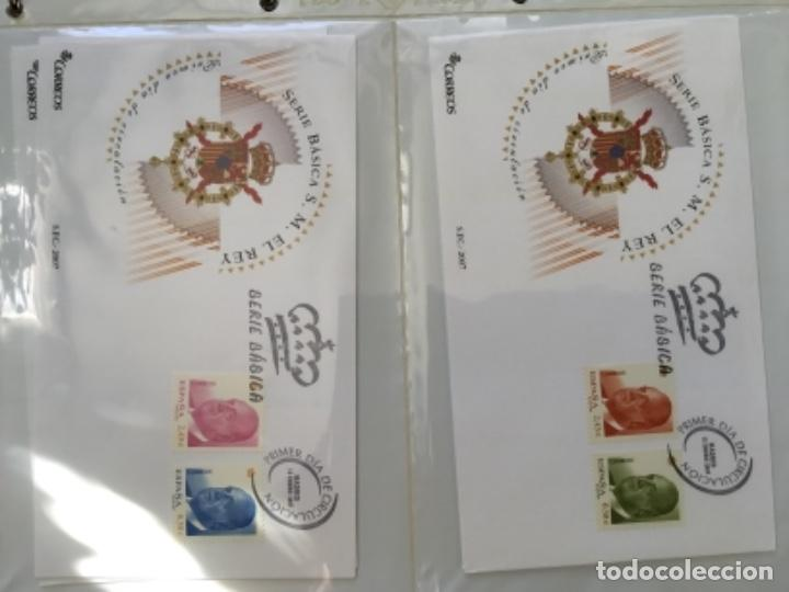 Sellos: España 2007 - Colección Sobres primer día 2007 - Foto 2 - 152373154