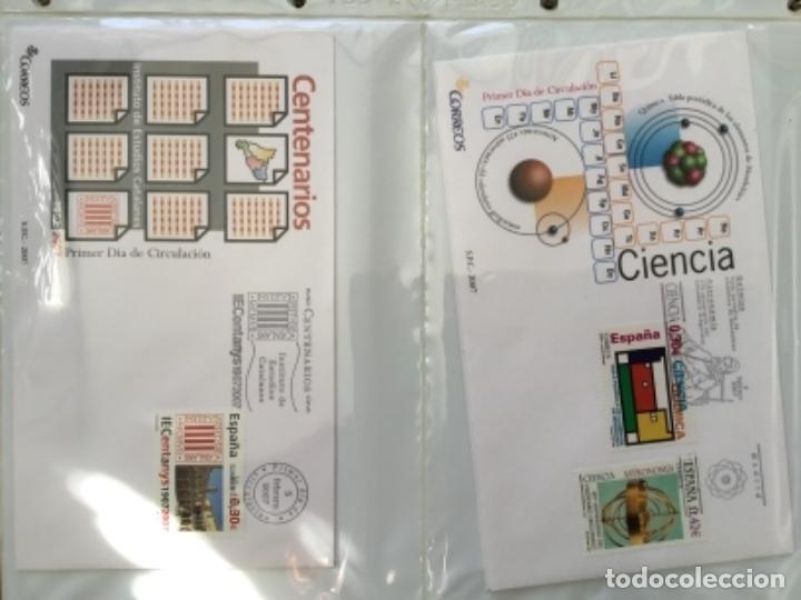Sellos: España 2007 - Colección Sobres primer día 2007 - Foto 6 - 152373154