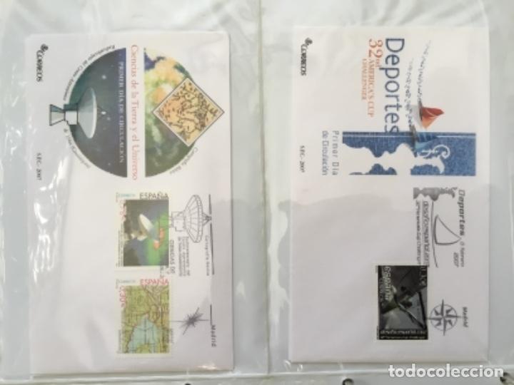 Sellos: España 2007 - Colección Sobres primer día 2007 - Foto 7 - 152373154