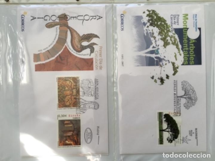 Sellos: España 2007 - Colección Sobres primer día 2007 - Foto 8 - 152373154