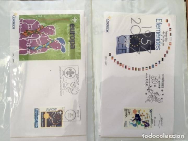 Sellos: España 2007 - Colección Sobres primer día 2007 - Foto 9 - 152373154