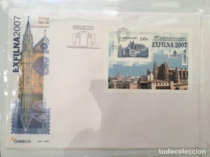 Sellos: España 2007 - Colección Sobres primer día 2007 - Foto 11 - 152373154