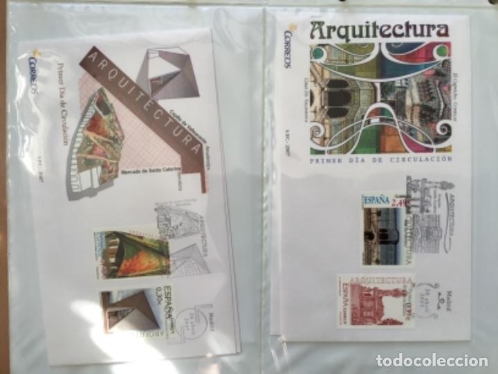 Sellos: España 2007 - Colección Sobres primer día 2007 - Foto 12 - 152373154