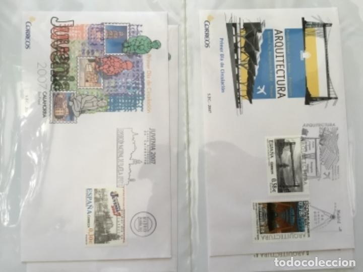 Sellos: España 2007 - Colección Sobres primer día 2007 - Foto 13 - 152373154
