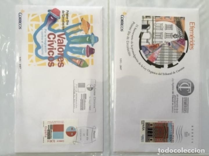 Sellos: España 2007 - Colección Sobres primer día 2007 - Foto 15 - 152373154