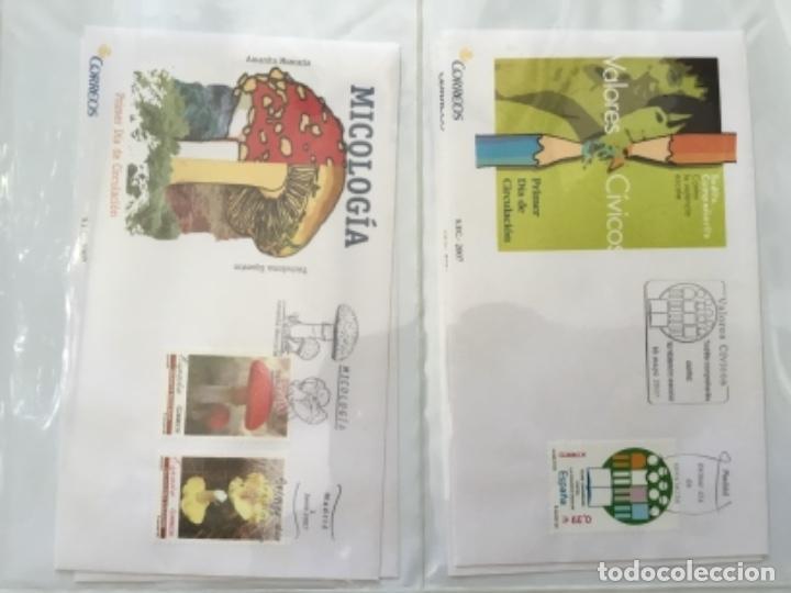 Sellos: España 2007 - Colección Sobres primer día 2007 - Foto 17 - 152373154