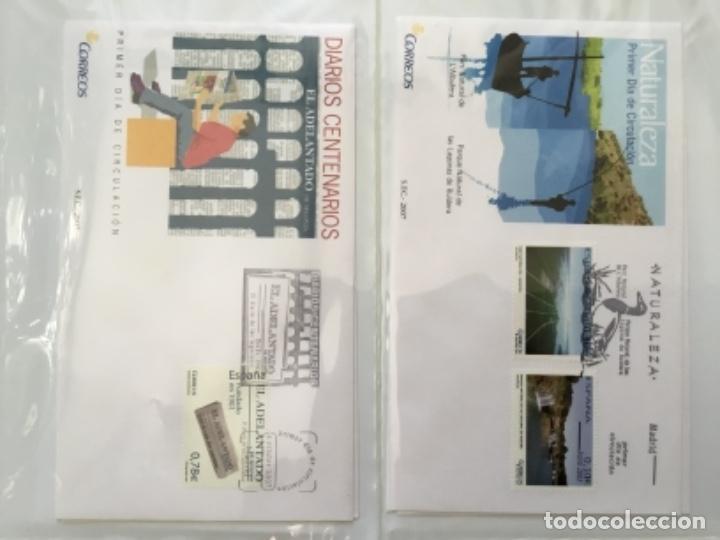 Sellos: España 2007 - Colección Sobres primer día 2007 - Foto 21 - 152373154