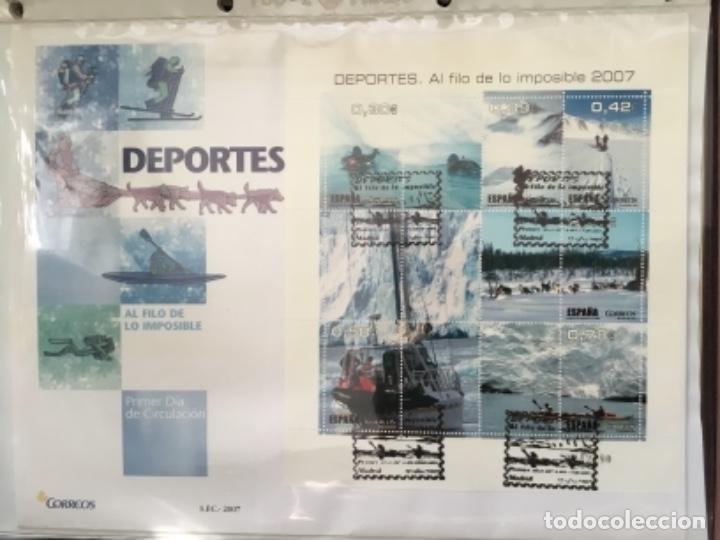 Sellos: España 2007 - Colección Sobres primer día 2007 - Foto 22 - 152373154