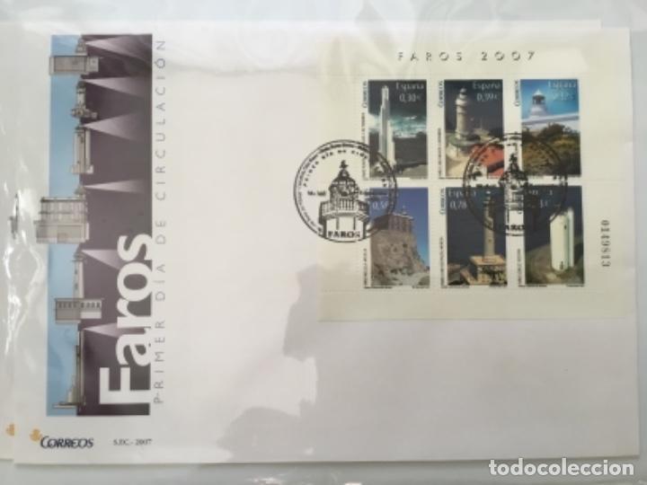 Sellos: España 2007 - Colección Sobres primer día 2007 - Foto 23 - 152373154